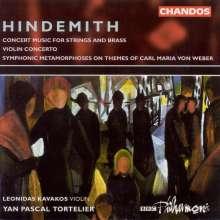 Paul Hindemith (1895-1963): Violinkonzert (1939), CD