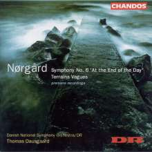 """Per Nörgard (geb. 1932): Symphonie Nr.6 """"At the End of the Day"""", CD"""