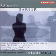 Samuel Barber (1910-1981): Essays for Orchestra Nr.1-3, CD