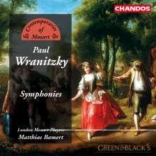 Paul Wranitzky (1756-1808): Symphonien opp.11,31,36, CD