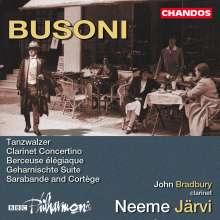 Ferruccio Busoni (1866-1924): Geharnischte-Suite op.34a, CD