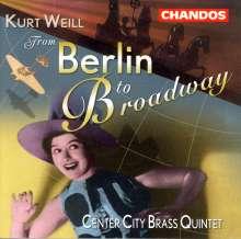 Kurt Weill (1900-1950): Dreigroschenoper-Suite für Blechbläser, CD