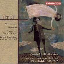 Michael Tippett (1905-1998): Klavierkonzert, CD
