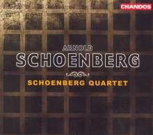 Arnold Schönberg (1874-1951): Sämtliche Werke für Streicher, 5 CDs