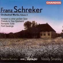 Franz Schreker (1878-1934): Romantische Suite op.14, CD