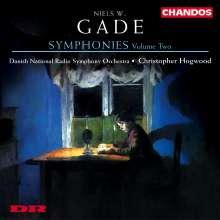 Niels Wilhelm Gade (1817-1890): Sämtliche Symphonien Vol.2, CD