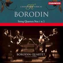 Alexander Borodin (1833-1887): Streichquartette Nr.1 & 2, CD