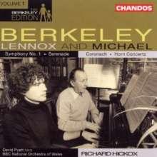 Lennox Berkeley (1903-1989): Symphonie Nr.1, CD