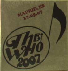 The Who: Live: Madrid, ES 17.05.07, 2 CDs