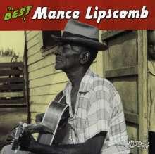 Mance Lipscomb: The Best Of Mance Lipscomb, CD