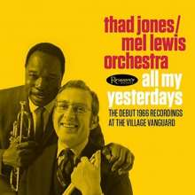 Thad Jones (1923-1986): All My Yesterdays: The Debut 1966 Recordings At The Village Vanguard, 2 CDs