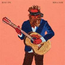 Iron And Wine: Beast Epic (Deluxe-Edition) (Red & Blue Vinyl), 2 LPs
