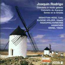 Joaquin Rodrigo (1901-1999): Concierto in modo galante für Cello & Orchester, CD