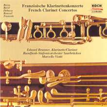 Eduard Brunner - Französische Klarinettenkonzerte, CD