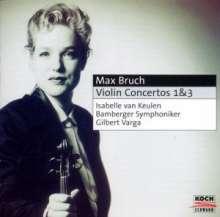 Max Bruch (1838-1920): Violinkonzerte Nr.1 & 3, CD