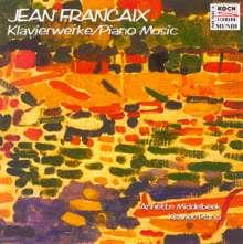 Jean Francaix (1912-1997): Klavierwerke, CD