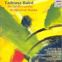 Tadeusz Baird (1928-1981): Oboenkonzert, CD