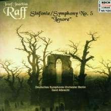 """Joachim Raff (1822-1882): Symphonie Nr.5 """"Lenore"""", CD"""