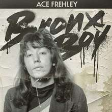 """Ace Frehley: Bronx Boy (Limited-Numbered-Edition) (White/Black Marbled Vinyl), Single 12"""""""