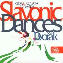 Antonin Dvorak (1841-1904): Slawische Tänze Nr.1-16 für Klavier 4-händig, CD