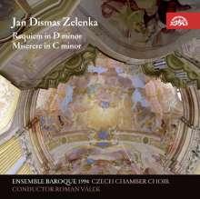 Jan Dismas Zelenka (1679-1745): Requiem d-moll, CD