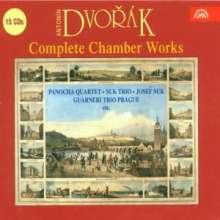 Antonin Dvorak (1841-1904): Complete Chamber Works, 15 CDs