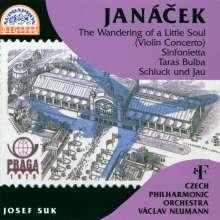 """Leos Janacek (1854-1928): Violinkonzert """"Wanderung einer Seele"""", CD"""