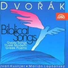 Antonin Dvorak (1841-1904): Biblische Lieder op.99 Nr.1-10, CD