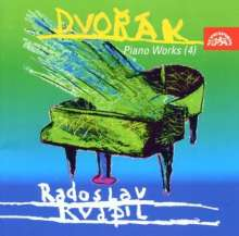 Antonin Dvorak (1841-1904): Klavierwerke Vol.4, CD