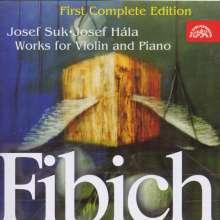 Zdenek Fibich (1850-1900): Werke für Violine & Klavier, CD