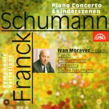 Cesar Franck (1822-1890): Symphonische Variationen für Klavier & Orchester, CD
