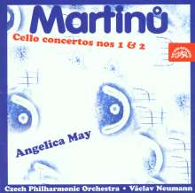 Bohuslav Martinu (1890-1959): Cellokonzerte Nr.1 & 2, CD