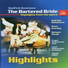 Bedrich Smetana (1824-1884): Die verkaufte Braut (Ausz.), CD