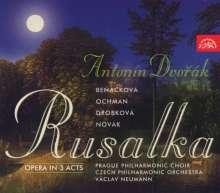 Antonin Dvorak (1841-1904): Rusalka, 3 CDs
