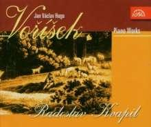 Jan Hugo Vorisek (1791-1825): Klavierwerke, 3 CDs