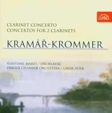 Franz Krommer (1759-1831): Konzerte f.2 Klarinetten op.35 & op.91, CD