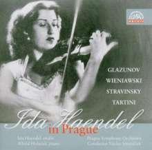 Ida Haendel in Prague, CD
