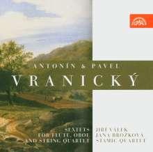 Antonin Vranicky (1761-1820): Sextett op.7 für Flöte,Oboe,Streicher, CD