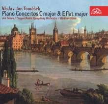 Vaclav Jan Tomasek (1774-1850): Klavierkonzerte C-Dur & Es-Dur, CD