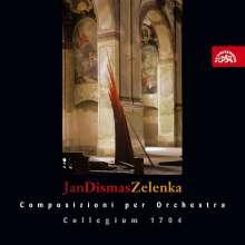 Jan Dismas Zelenka (1679-1745): Concerto a 8 in G, CD