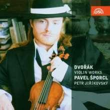 Antonin Dvorak (1841-1904): Sonatine für Violine & Klavier op.100, CD
