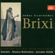 Franz Xaver Brixi (1732-1771): Judas Iscariothes (Oratorium), CD