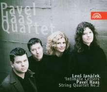 """Pavel Haas (1899-1944): Streichquartett Nr.2 """"Von den Affenbergen"""", CD"""