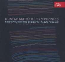 Gustav Mahler (1860-1911): Symphonien Nr.1-10, 11 CDs