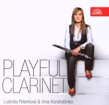 Ludmilla Peterkova - Playful Clarinet, CD