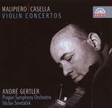 Gian Francesco Malipiero (1882-1974): Violinkonzert, CD