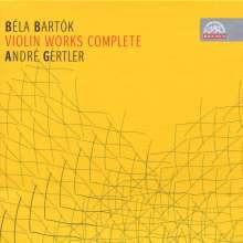 Bela Bartok (1881-1945): Sämtliche Werke für Violine, 4 CDs
