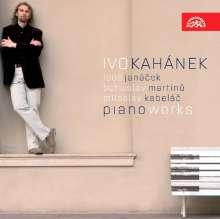 Ivo Kahanek - Piano Work, CD