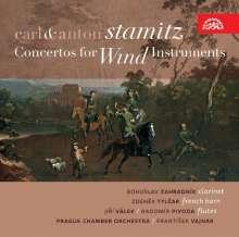 Carl Stamitz (1745-1801): Hornkonzert Es-dur, CD