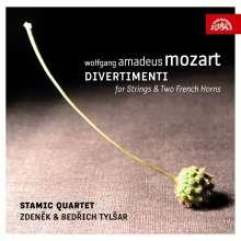 Wolfgang Amadeus Mozart (1756-1791): Divertimenti KV 247,287,334, 2 CDs